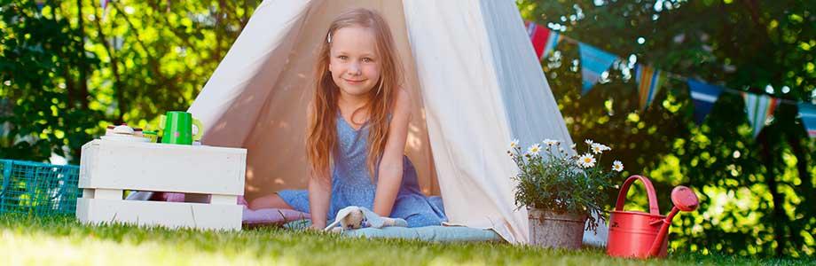 Children's Parties in Bell Tents